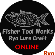 Fisher Tool Works / Ryo Lure Craft Handmade ROD
