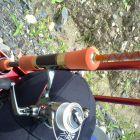 女性の管釣りロッド5'6″